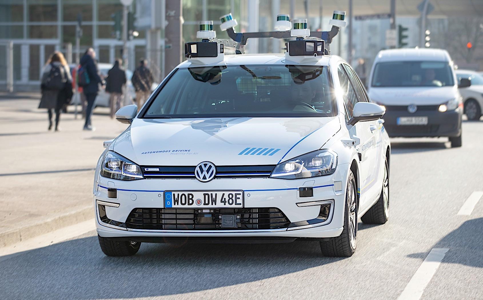 Volkswagen testira nivo 4 autonomne vožnje u Hamburgu