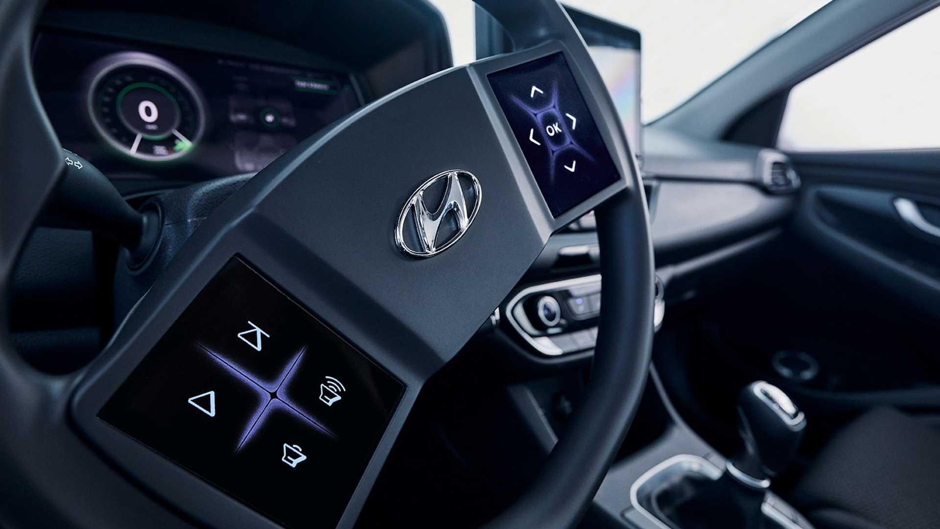 Hyundai smatra da su displeji osetljivi na dodir na volanu dobra ideja