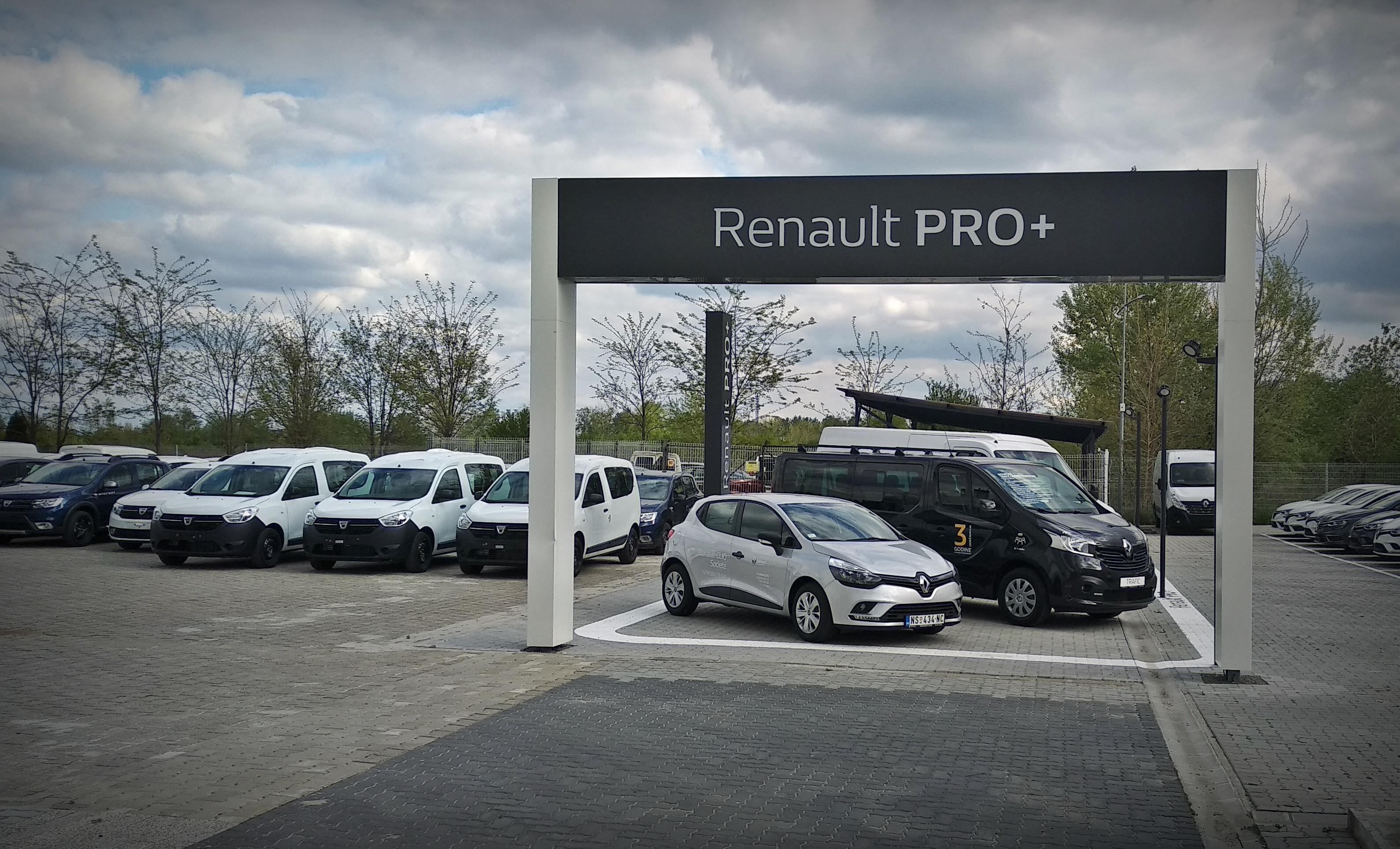Renault Pro+ i Renault Selection centar otvoreni u Novom Sadu