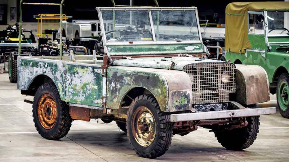 Zanimljivost dana: Prva serija Land Rovera ikada proizvedena