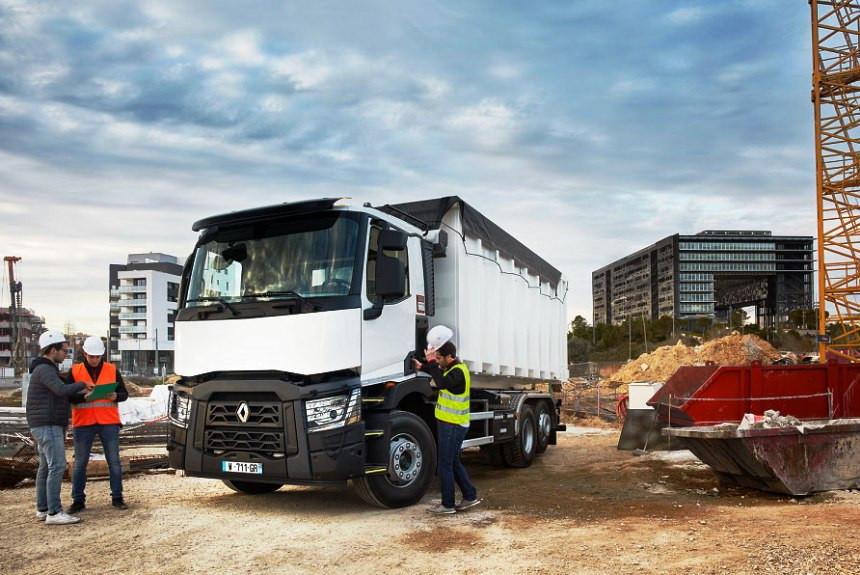 Novi bezbednosni sistemi na kamionima Renaulta iz C i K serija