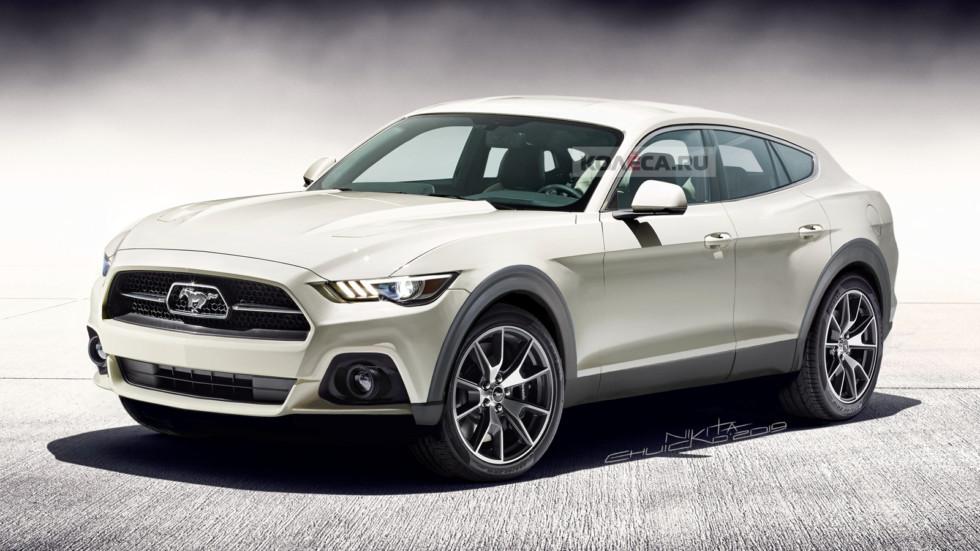 Kolesa: Da li vam se dopada SUV Mustang kakvim ga vide ruske kolege?