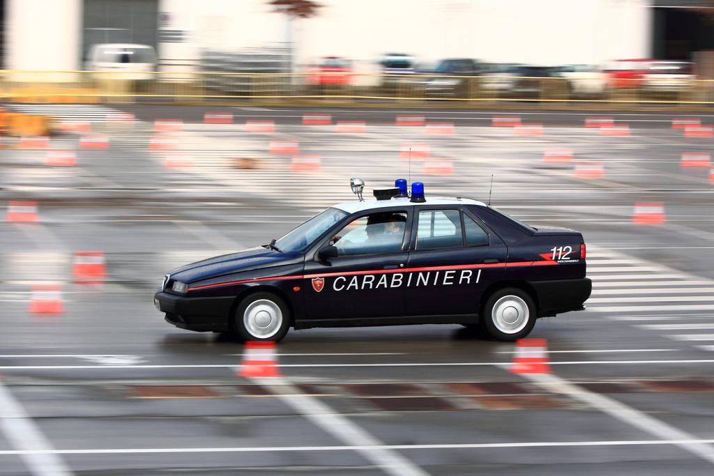 Zanimljivost dana: Karabinijeri i Alfa Romeo 155