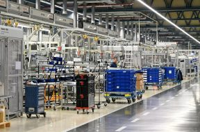 Volkswagen-Werk in Salzgitter