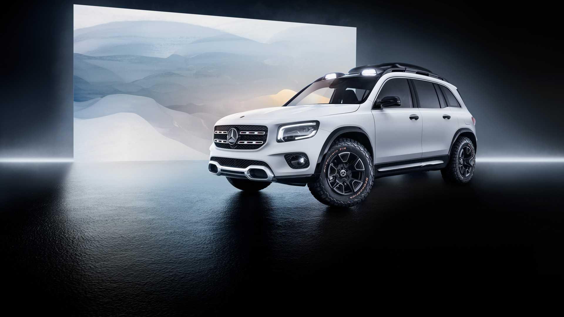 Mercedes-Benz GLB koncept predstavljen