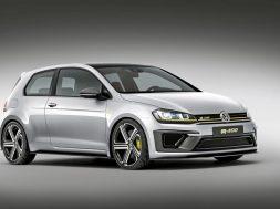 Die neue Volkswagen Studie Golf R 400