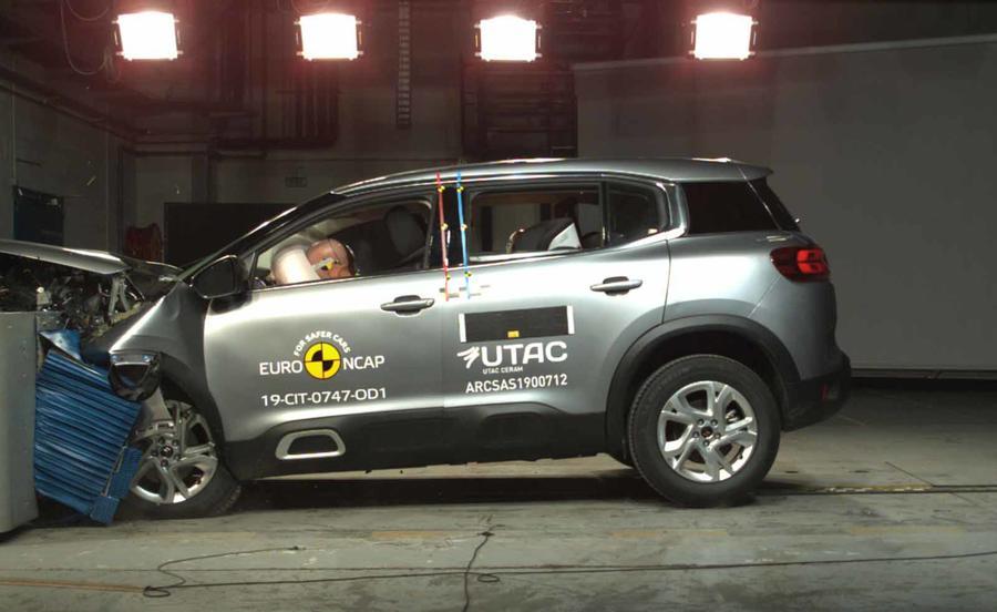 Range Rover Evoque odličan na Euro NCAP testu