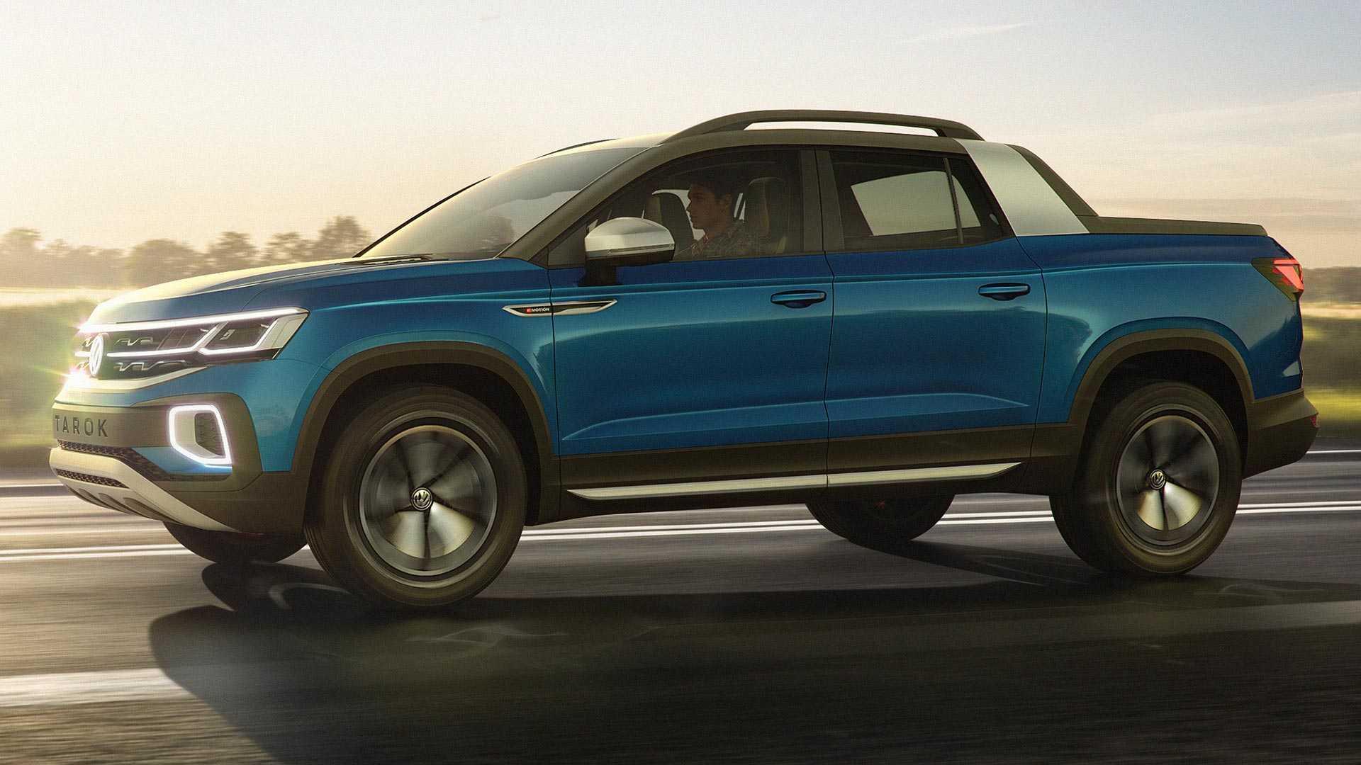 Volkswagen planira manji pikap za američko tržište – Tarok koncept