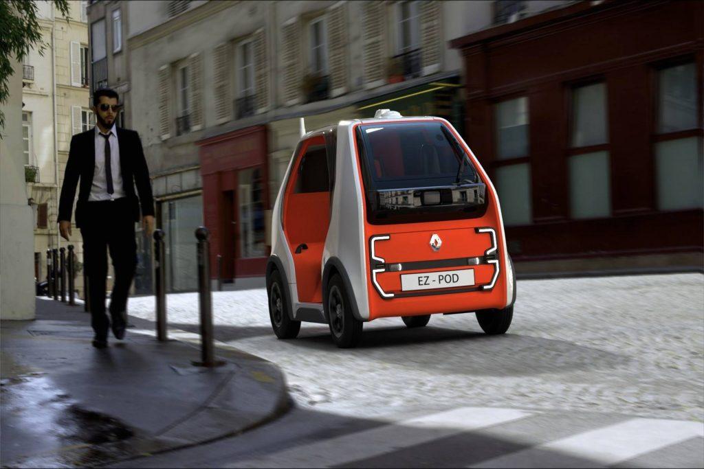 Renault predstavio EZ-Pod električni autonomni koncept