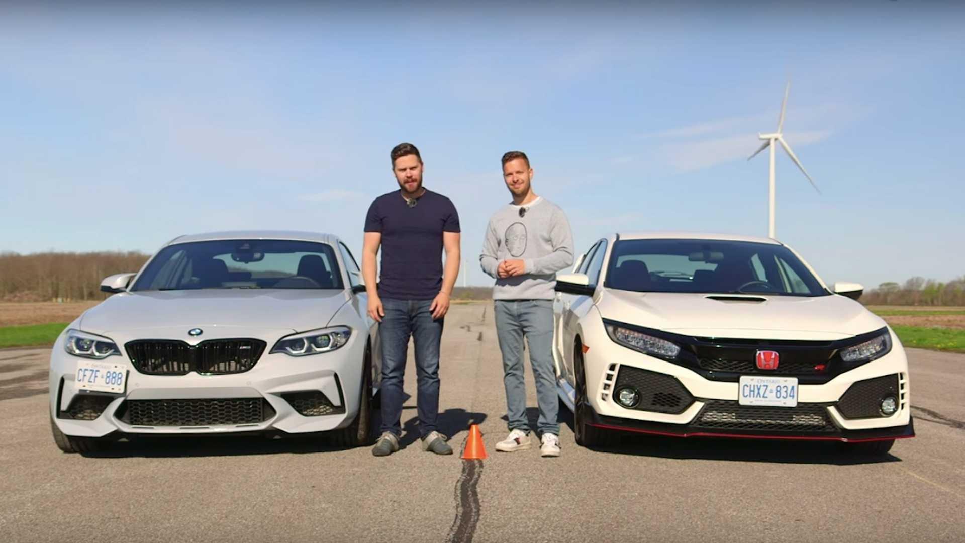 Da li Civic Type R može da pobedi BMW M2 Competition u trci ubrzanja? (VIDEO)