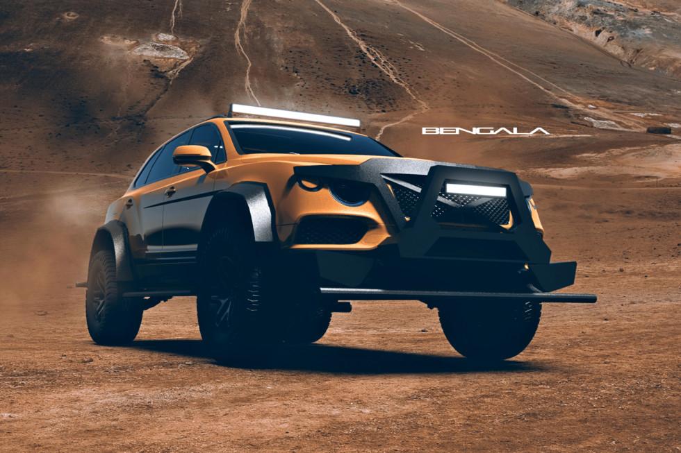 Bentley Bentayga spreman za smak sveta