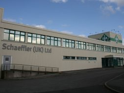 The Schaeffler UK automotive plant in Llanelli, South Wales