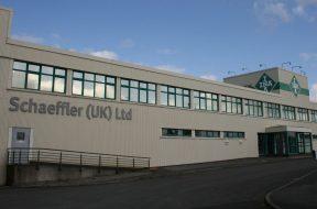 The Schaeffler UK automotive plant in Llanelli, South Wales