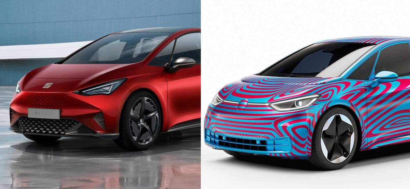 Pronađi razliku: VW ID.3 i SEAT el-Born