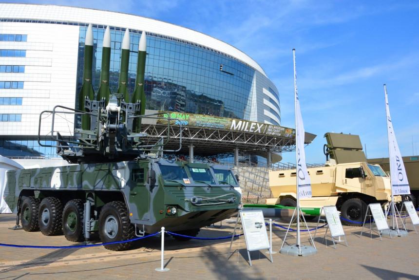 Sajam vojne tehnike MILEX u Minsku