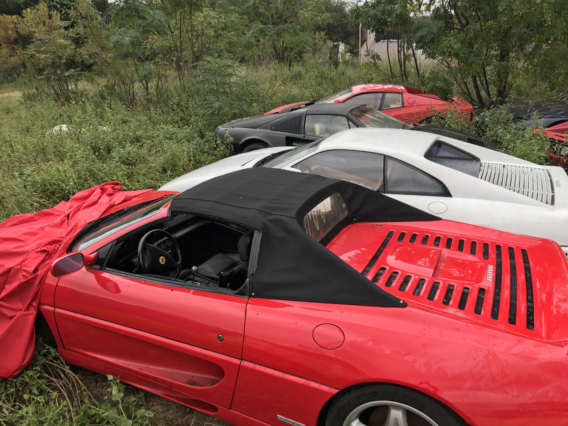 Srceparajuće – 11 Ferrarija trune na polju u Teksasu! (GALERIJA)