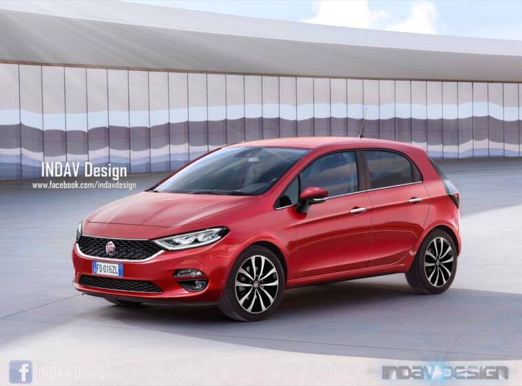 Da li bi ovako mogao izgledati novi Fiat Punto?