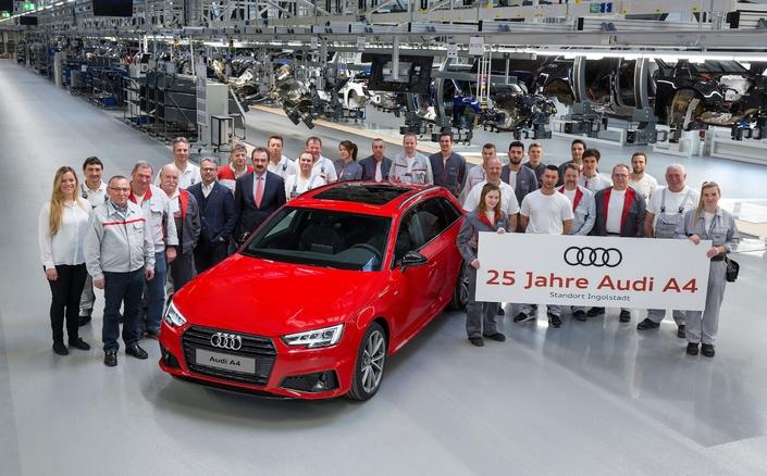 Audi A4 je već četvrt veka sa nama