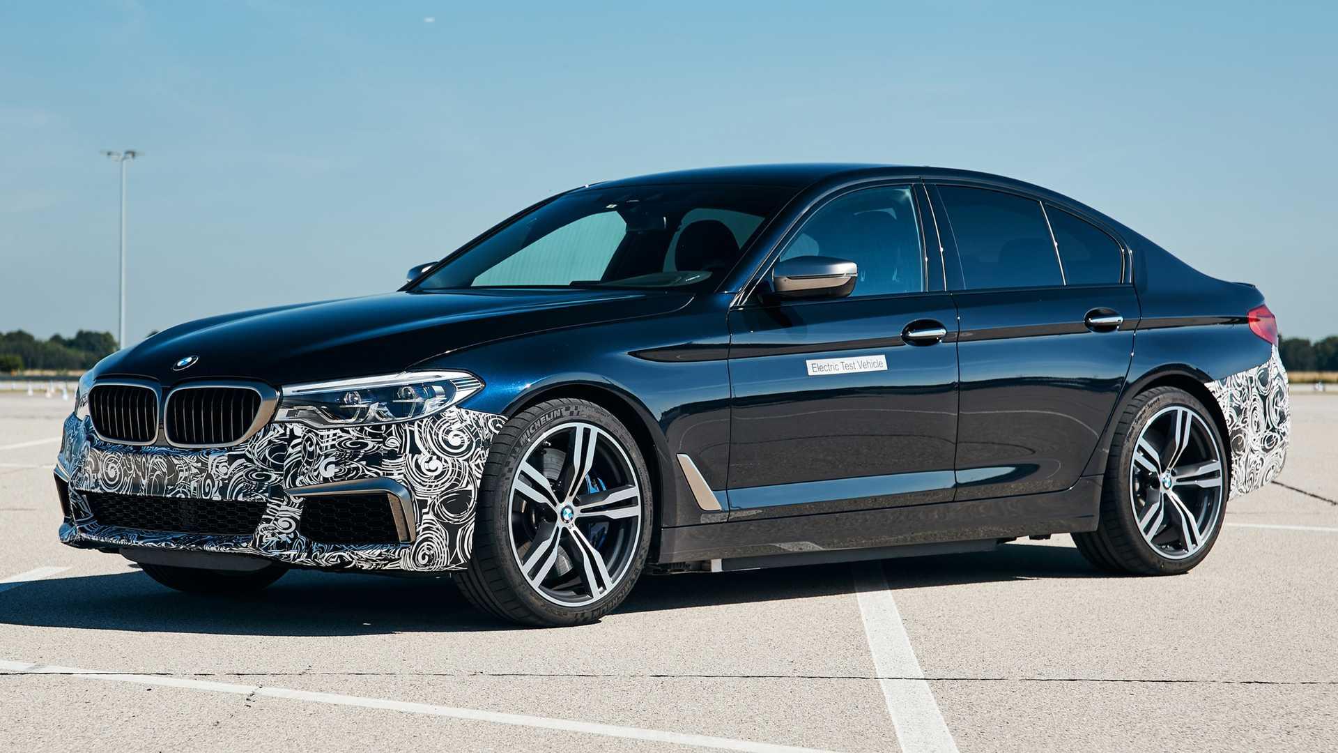 Električni BMW serije 5 sa 720 ks i 1.150 Nm!