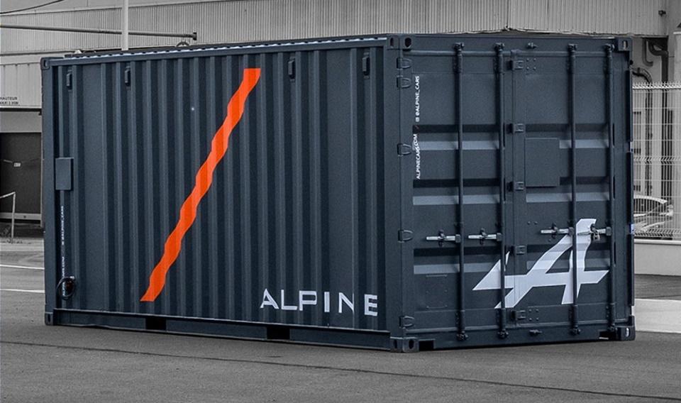 Alpine A110 Sport stigla u Le Man u kontejneru