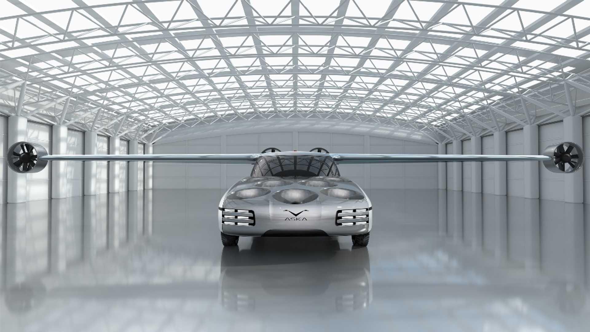 Aska leteći automobil poleće i sleće poput helikoptera (VIDEO)