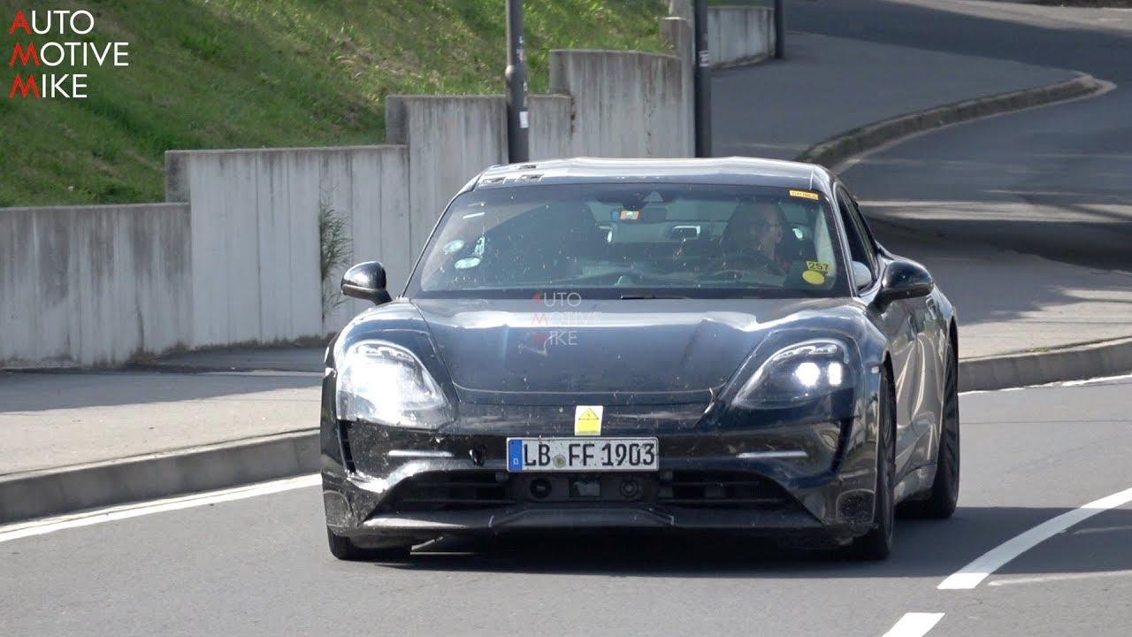 Porsche Taycan juri Nirburgringom – sportsko ogibljenje evidentno (VIDEO)