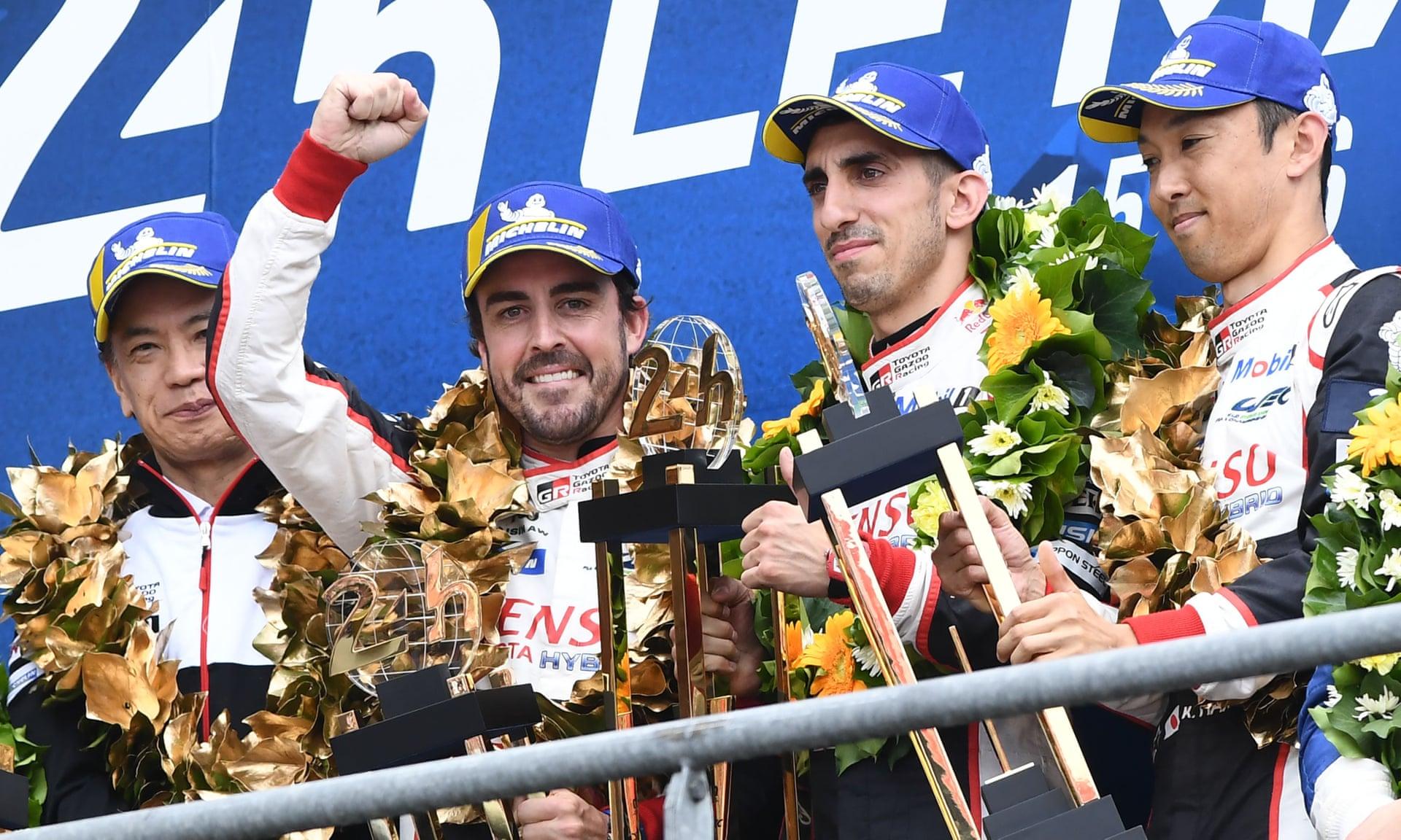 Toyota i Fernando Alonso drugi put uzastopno osvojili Le Man
