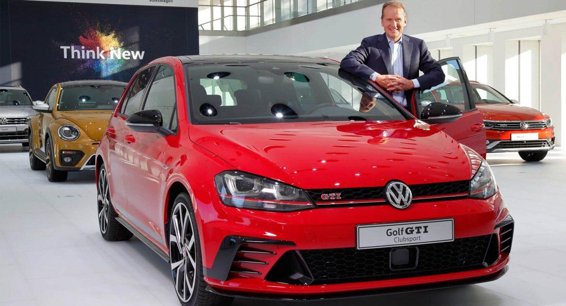 Herbert Dis želi da VW Golf Mk8 bude lansiran pre isteka ove godine