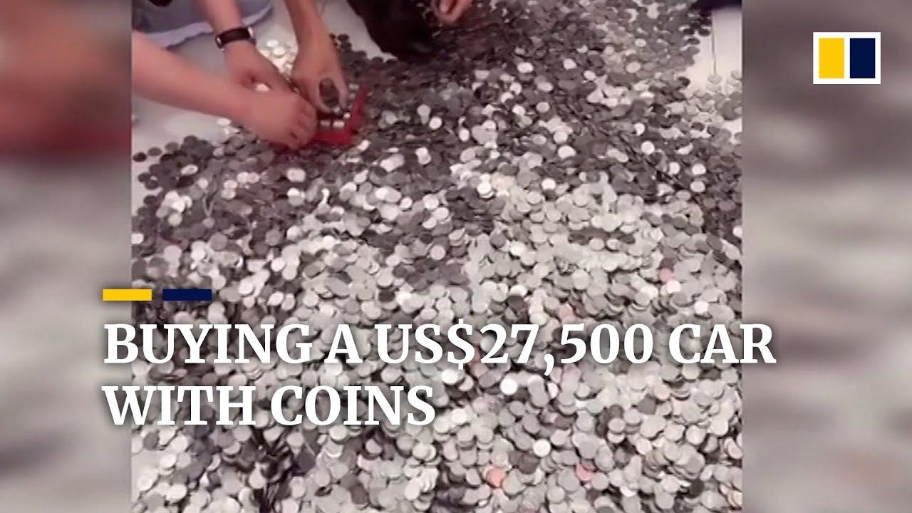 Kupio automobil kovanicama! (VIDEO)