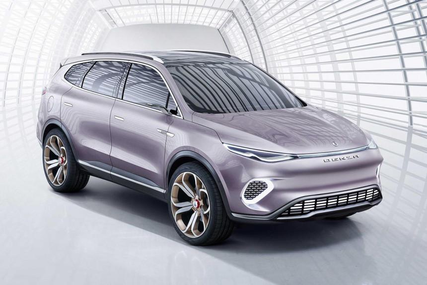 Mercedes predstavio krosover Denza Concept X