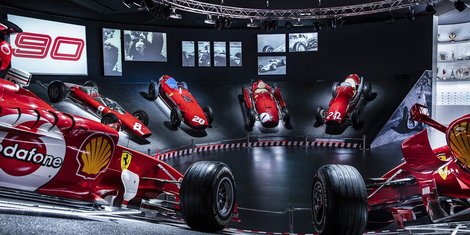 Ferrari organizuje dve izložbene postavke u čast devedesetog rođendana Scuderije