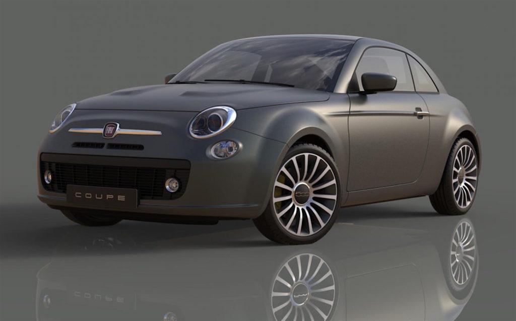 Da li bi ovako mogao da izgleda Fiat 500 Coupe?