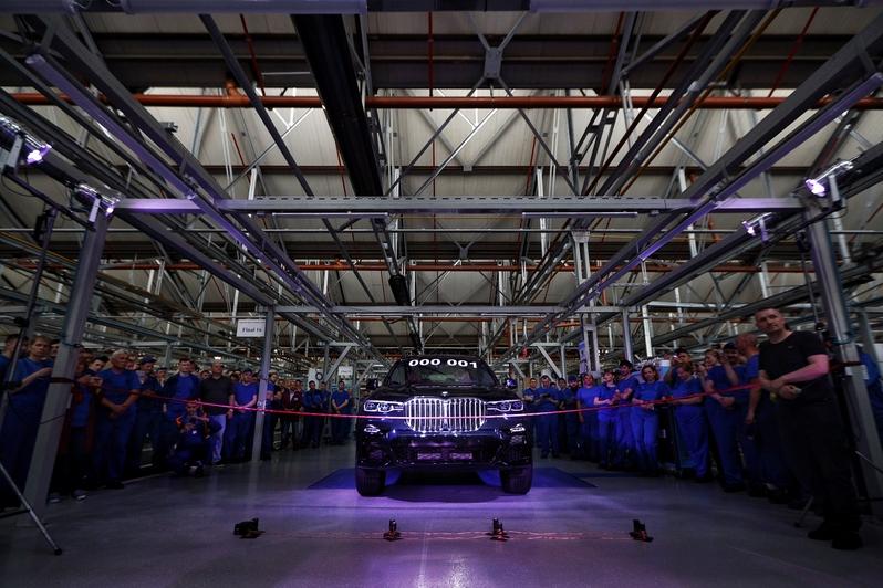 Prvi u istoriji BMW X7 koji je proizveden u Rusiji