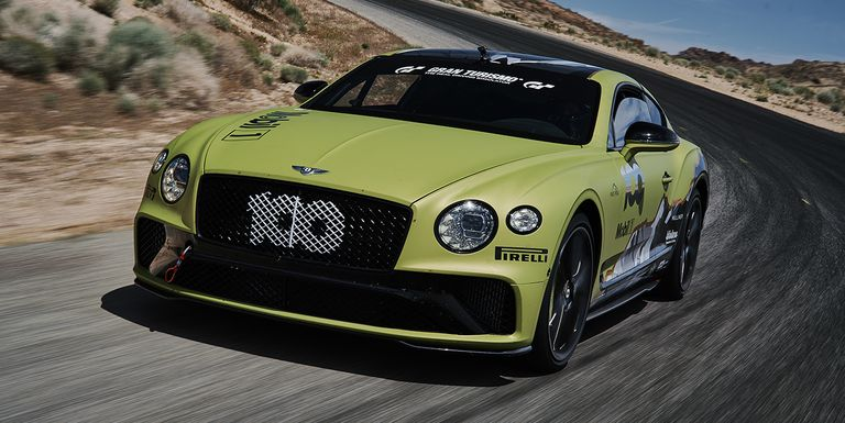 Bentley juriša na rekord trke Pikes Peak