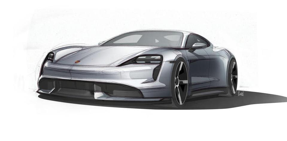 Četiri ključna elementa dizajna modela Porsche Taycan