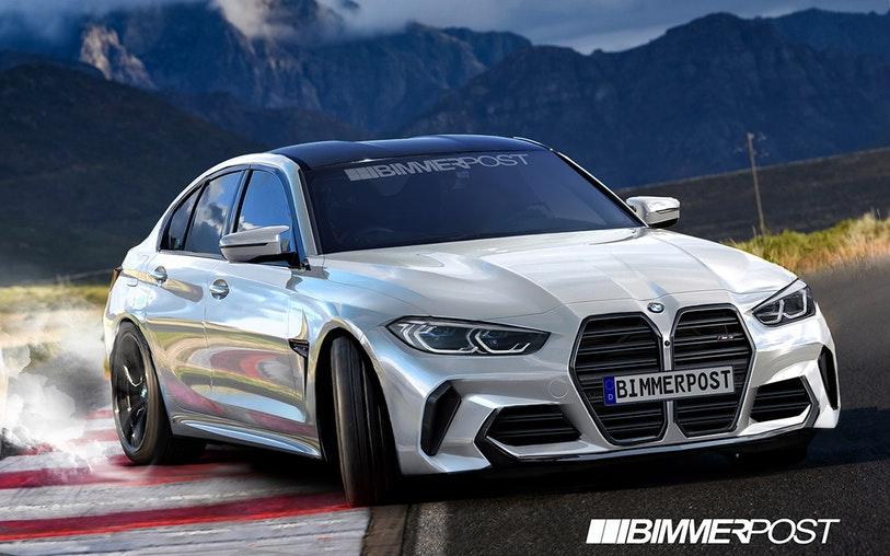 Da li će ovako izgledati BMW M3 G80?
