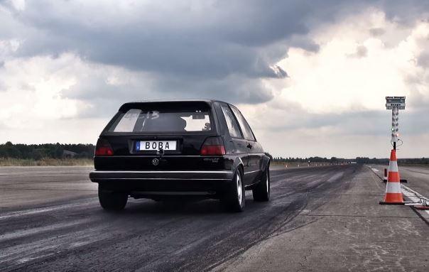 "VW Golf Mk2 ""sleeper""  – ubica hiperautomobila (VIDEO)"