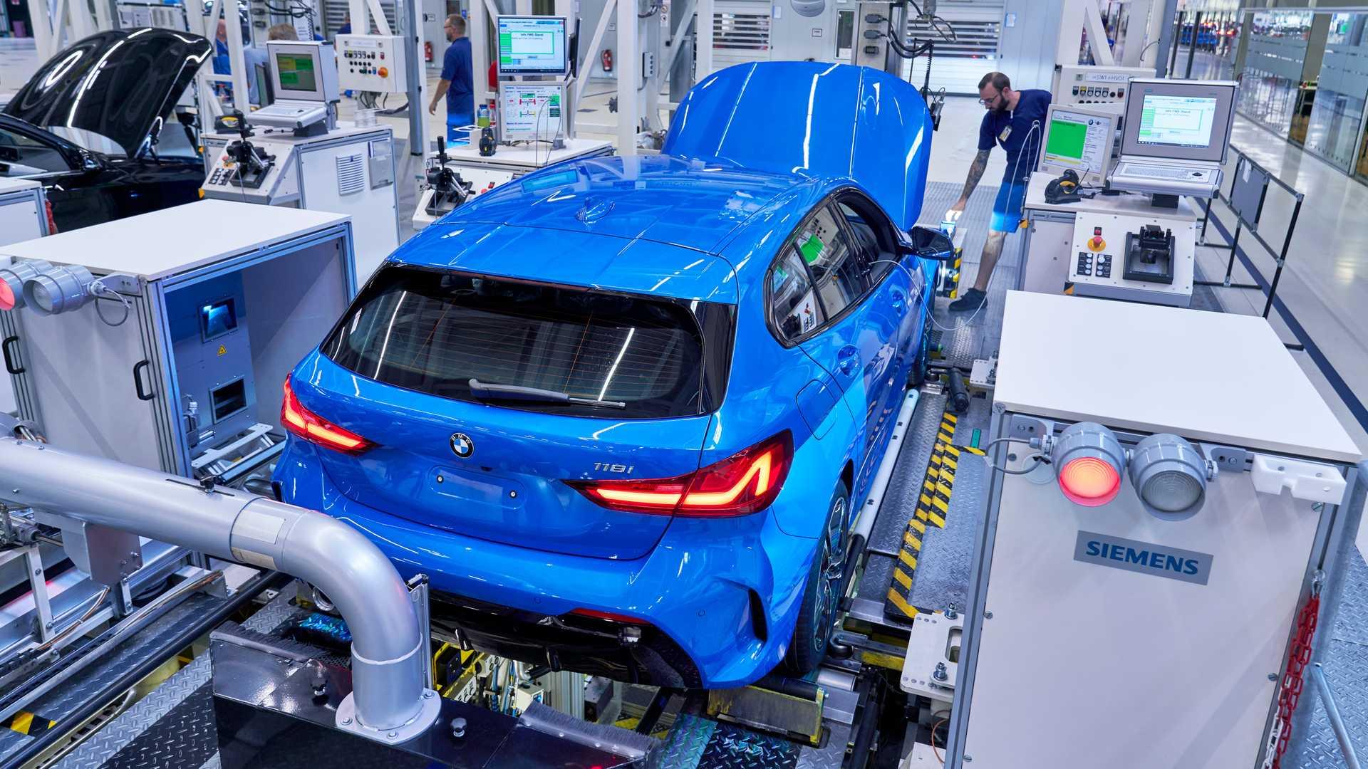 Start proizvodnje BMW-a serije 1 s prednjim pogonom