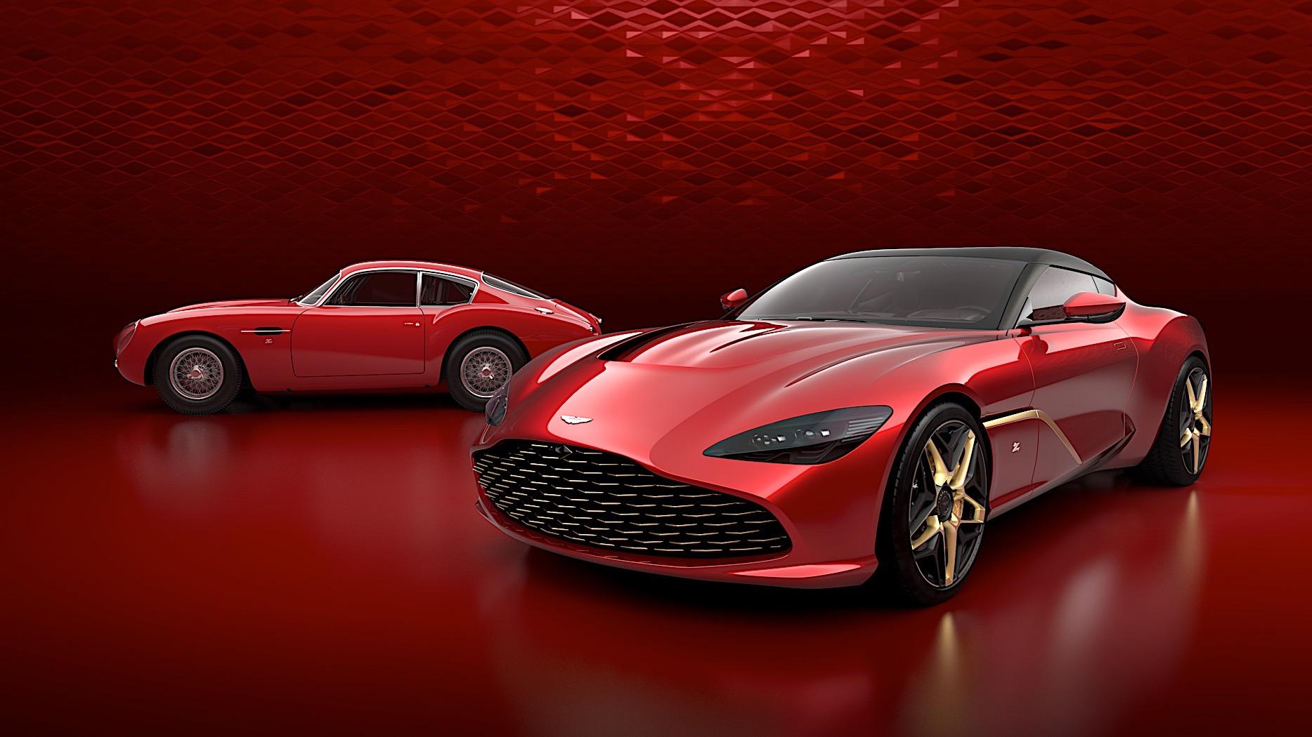 Aston Martin DBS GT Zagato i DB4 GT Zagato