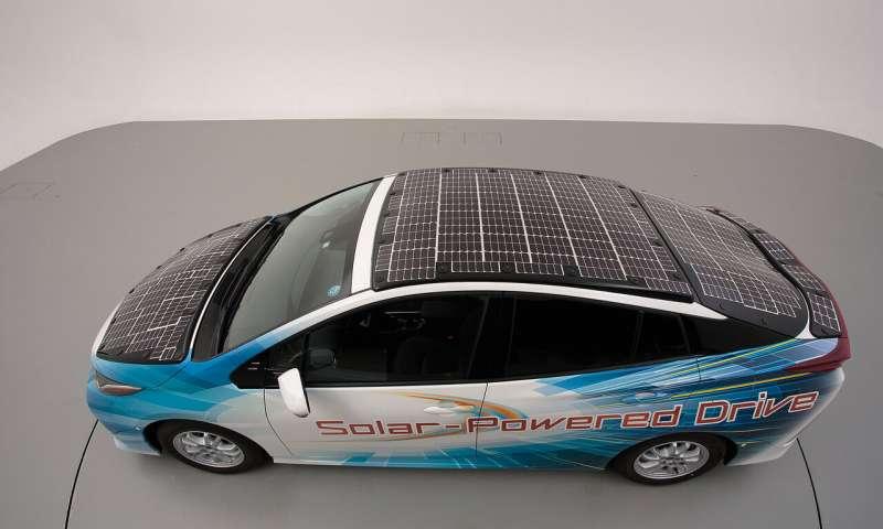 Toyota pruža Priusu energiju Sunca za produženje autonomije