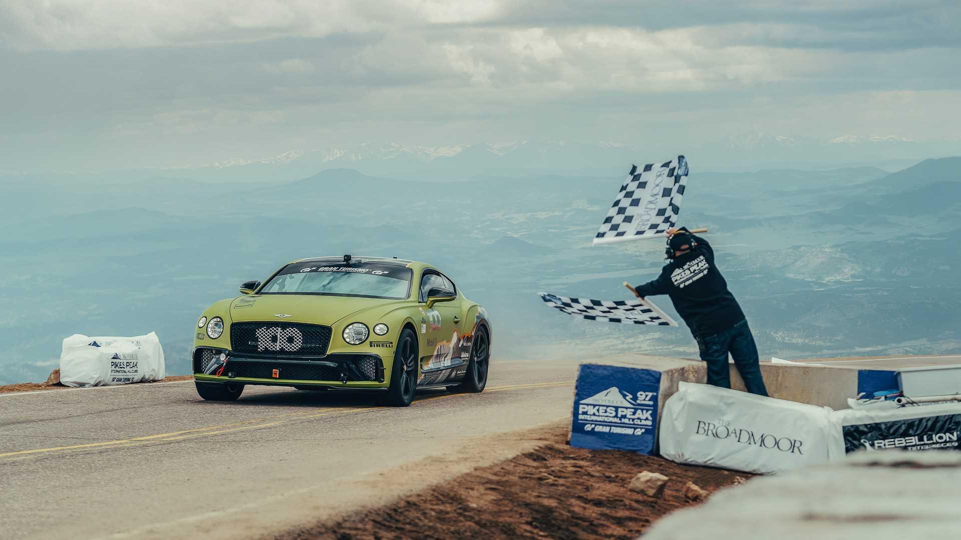 Bentley Continental GT novi rekorder Pikes Peaka u konkurenciji serijskih automobila