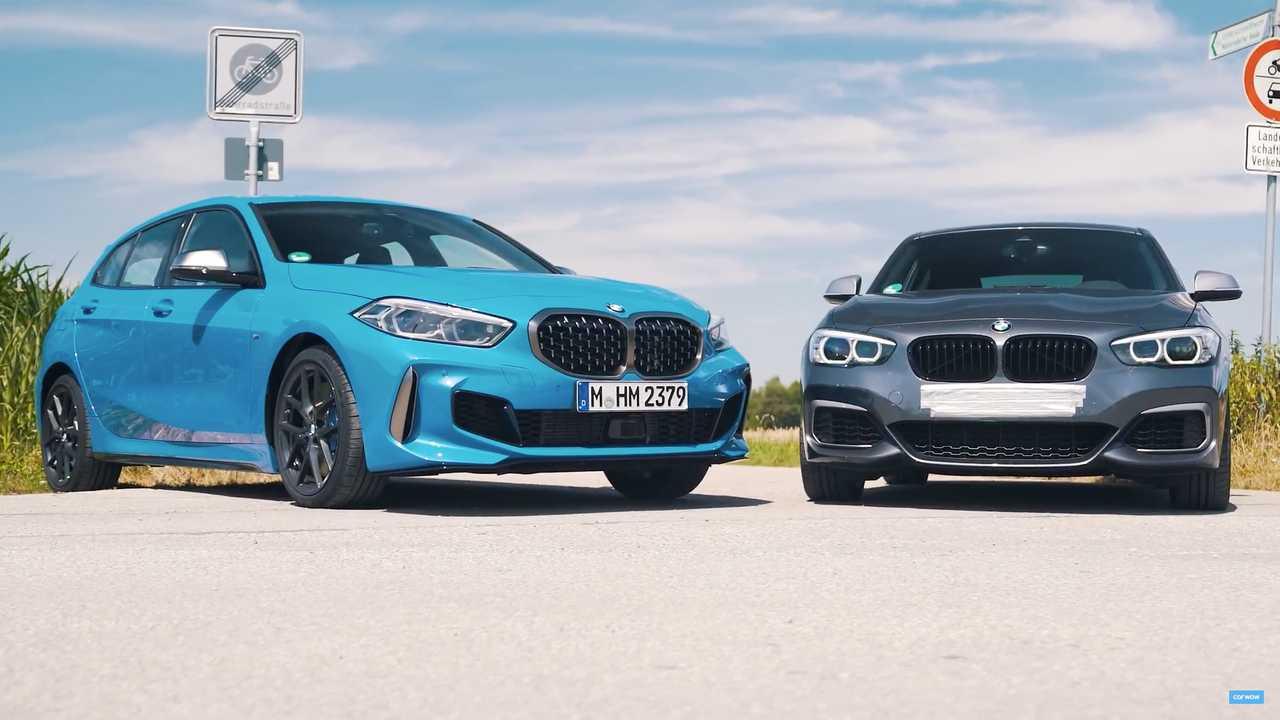 Da li novi BMW M135i može da se nosi sa M140i prethodne generacije? (VIDEO)