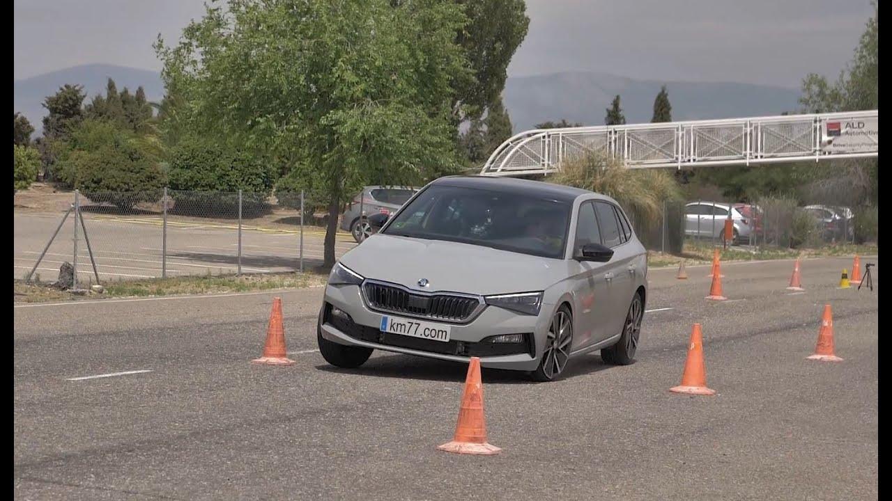 """Škoda Scala sasvim solidna na """"testu severnog jelena"""" (VIDEO)"""