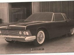 1961 Ford Thunderbird prototip 1