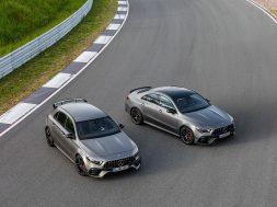 Mercedes-AMG A 45 S 4MATIC+ und CLA 45 S 4MATIC+ (2019)Mercedes-AMG A 45 S 4MATIC+ and CLA 45 S 4MATIC+ (2019)