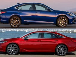 2019 Lexus ES VS 2019 Toyota Avalon