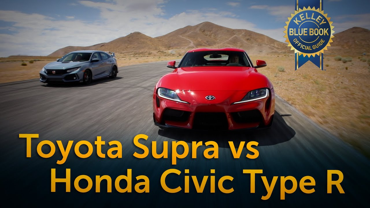 Toyota Supra vs Honda Civic Type R (VIDEO)