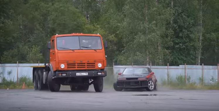 """Drift"" Kamaz s 1.000 konjskih snaga (VIDEO)"