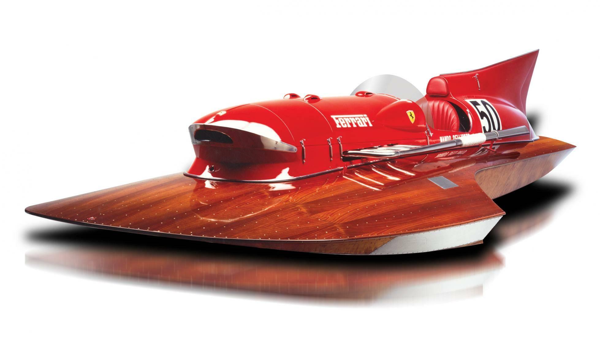 Zanimljivost dana: Ferrarijev čamac rekorder