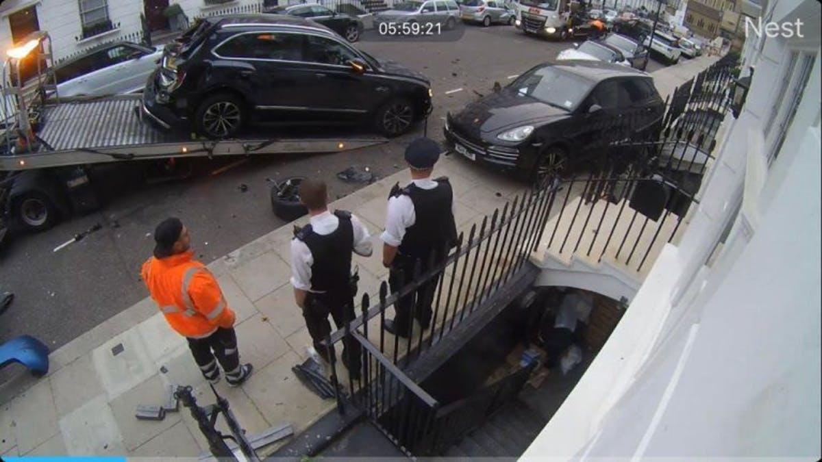 Ovako izgleda saobraćajna nesreća od milion evra (VIDEO)